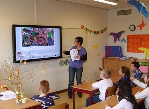 Touchscreen onderwijs