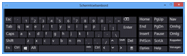 Windows 8 scherm toetsenbord
